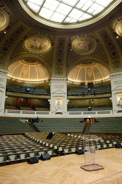 Le Grand Amphithéâtre, The Sorbonne - Paris, France