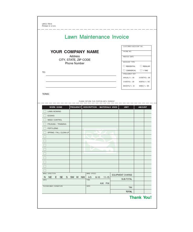 invoice template usa
