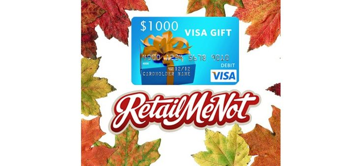 1000 Gift Card from RetailMeNot.com sweepstakes