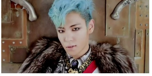 "T.O.P.'s hair from ""Fantastic Baby"" <3"