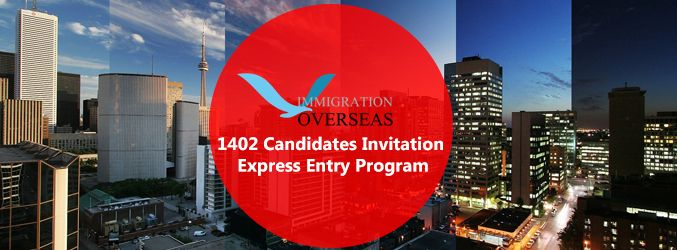 On August 7th, 2015, CIC (Citizenship and Immigration Canada)successfully conducted the 14th Express Entry draw inviting 1402 candidates. #14draw #14thdrawexpressentry