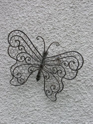 Butterfly, antique finish