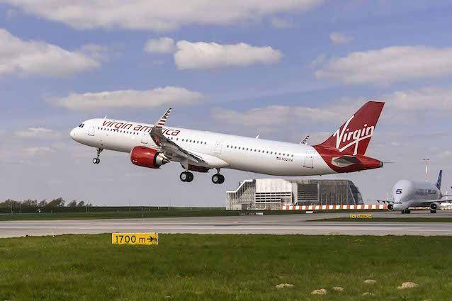 Η Airbus παραδίδει το πρώτο A321neo στην Virgin America