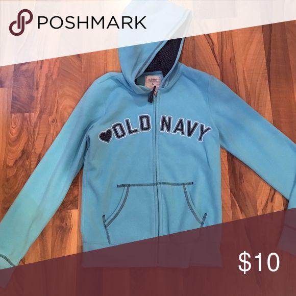 Girl's Old Navy hoodie Girl's size XL Old Navy hoodie. Full zip. Excellent condition. Old Navy Shirts & Tops Sweatshirts & Hoodies