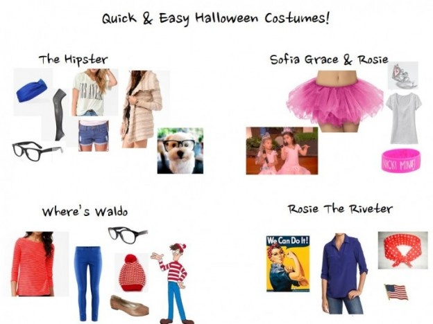 quick and easy halloween party costumes