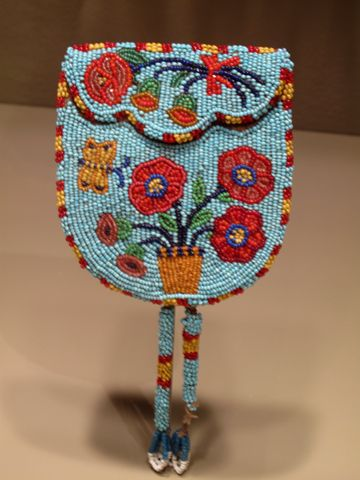 ojibwe beadwork | Another great Minneapolis Institute of the Arts visit | Dulcey Heller