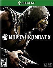BRAND NEW SEALED Mortal Kombat X (Microsoft Xbox One 2015)