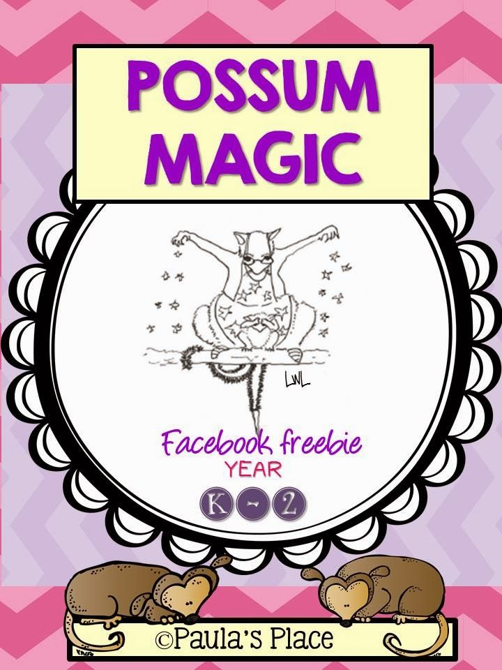 Freebies - Possum Magic by Mem Fox ideas