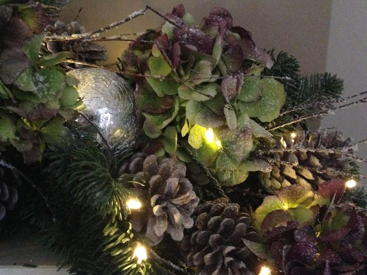 Christmas mantlepiece