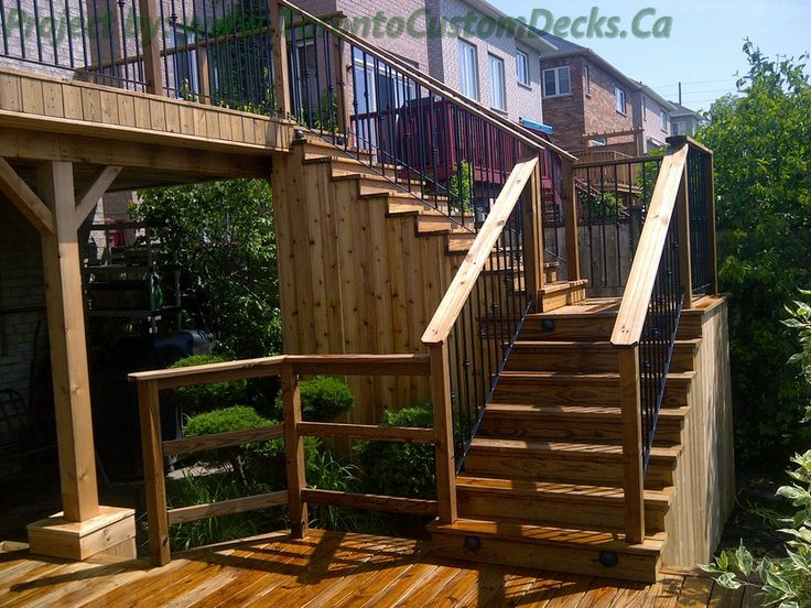 1000 images about 2 level deck on pinterest wood deck for Custom deck ideas