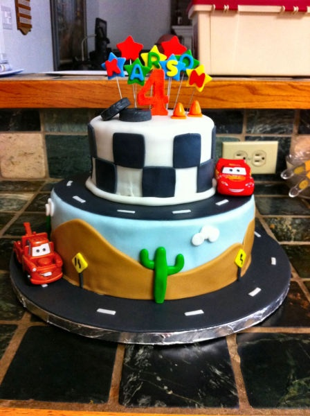 Don't show this to my husband, he will want this cake for himself.