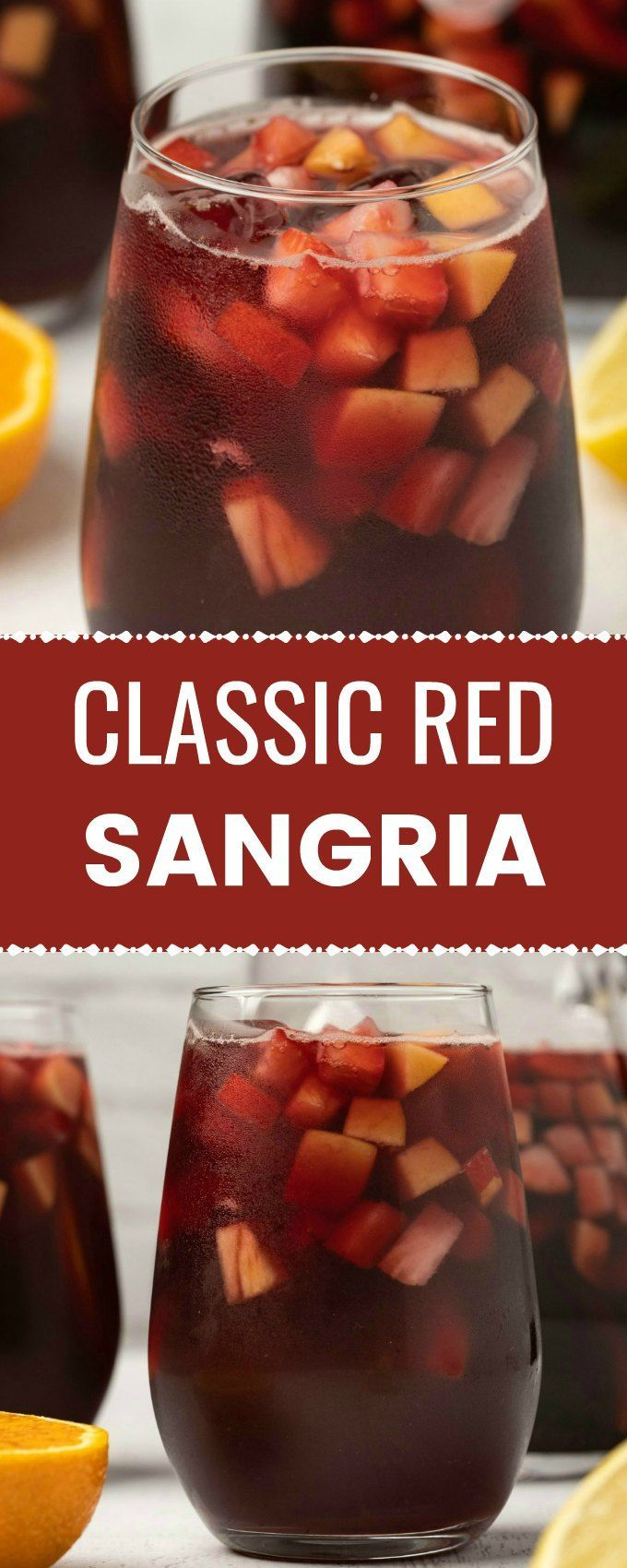 The Best Red Sangria In 2020 Red Sangria Recipes Sangria Recipes Easy Sangria Recipes