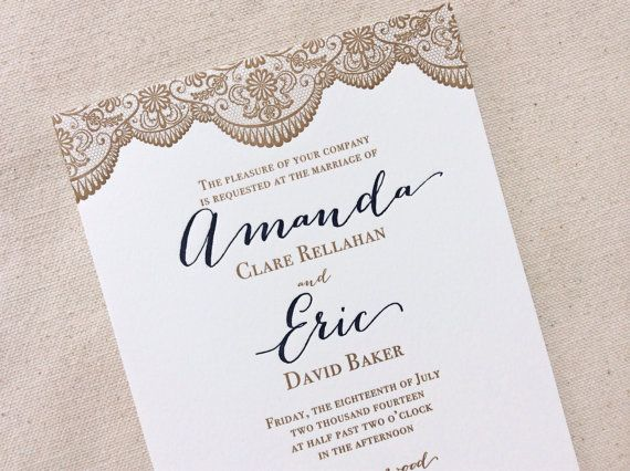 The Magnolia Suite  Classic Letterpress by DinglewoodDesign