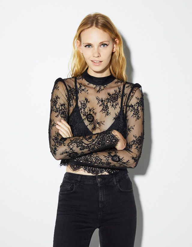 7777af466748 New - CLOTHING - WOMEN - Bershka United States   Holiday Fit Inspo ...