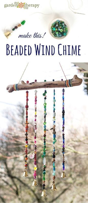 Add Sparkle to the Garden With This Beautiful Beaded Wind Chime