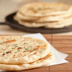 Pan Grilled Flatbread, soft and chewy - like Naan