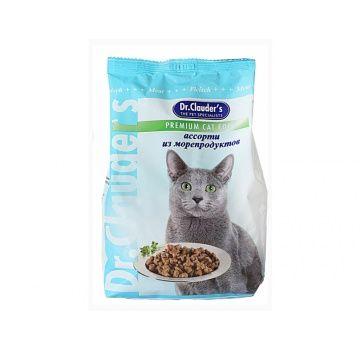 Корм для кошек Dr.Clauder's с морепродуктами, 400 г