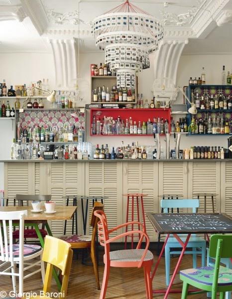 Oh ! Fico, ma eco = bar-restaurant créé par Andrea Minoni et Gino Forti à Brescia, Italie