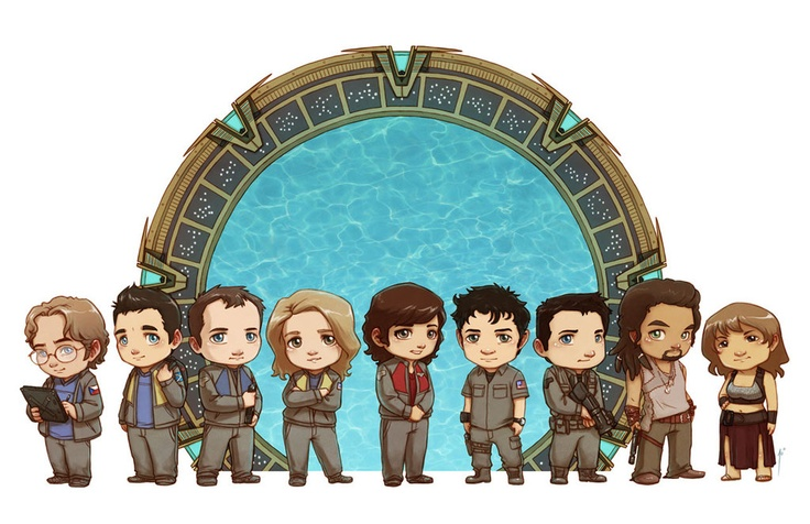 StarGate Atlantis cast by *JoannaJohnen
