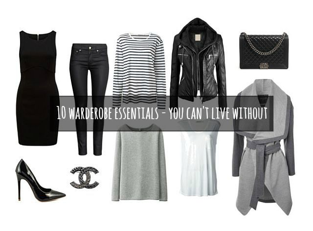 OUTFIT: Top 10 Wardrobe Essentials you can't live without!
