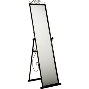 Buy Scroll Cheval Freestanding Mirror - Black at Argos.co.uk, visit Argos.co.uk to shop online for Mirrors