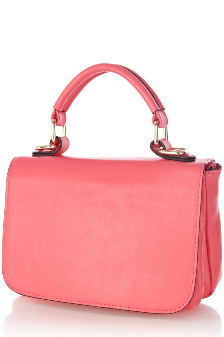 All Accessories | Pink Clean Midi Day Bag | Warehouse