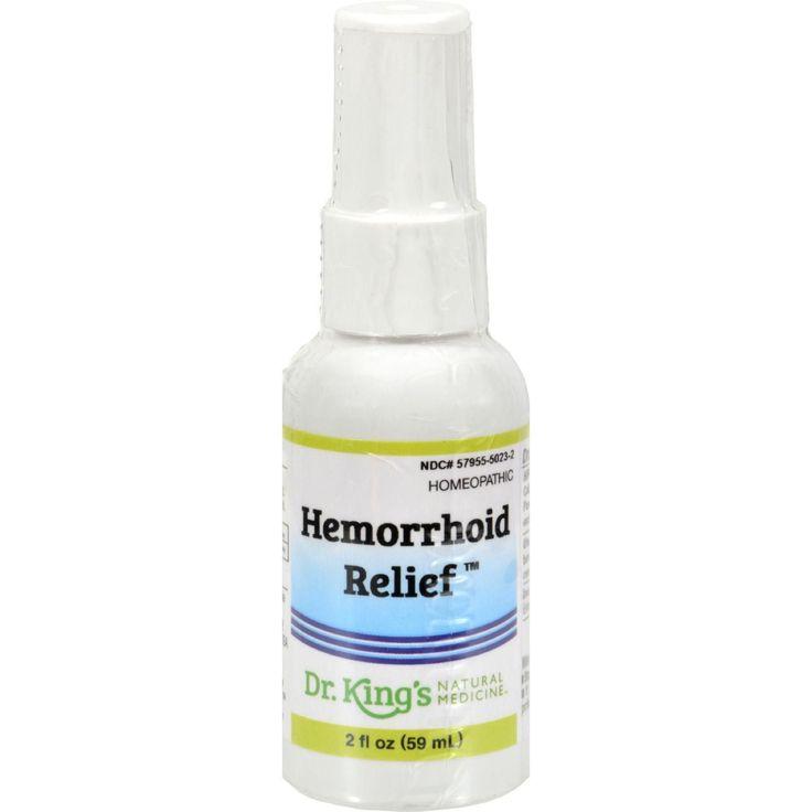 King Bio Homeopathic Hemorrhoid Relief - 2 Fl Oz