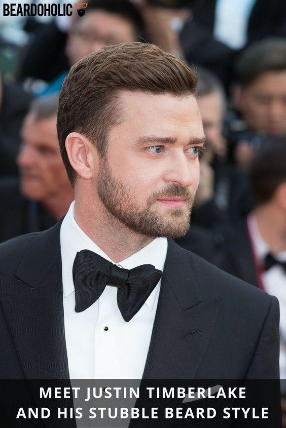 Meet Justin Timberlake and His Stubble Beard Style From Beardoholic.com
