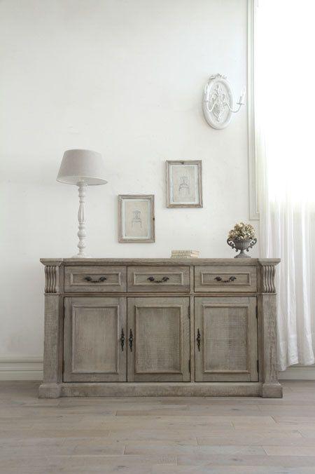 メモリーブロックとグレーイッシュなフレンチスタイルの家具 *素敵リビング* by サラグレース