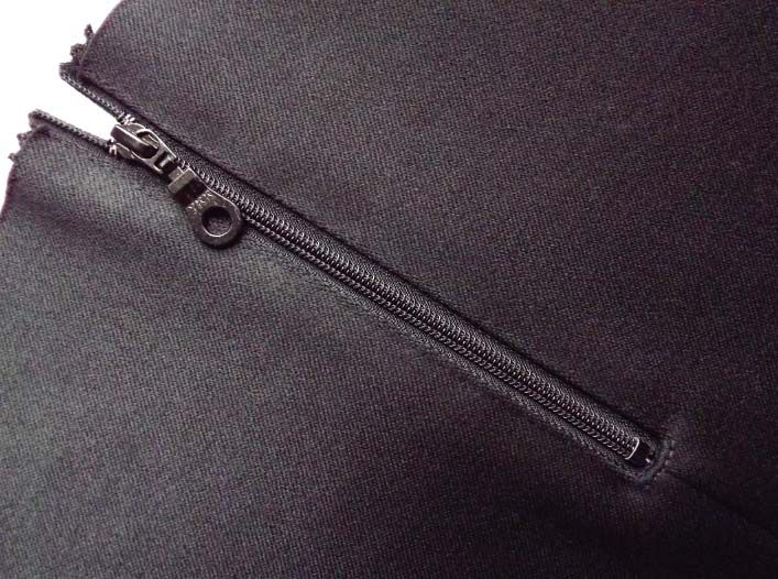 How to sew an exposed zip - Inseam Studios