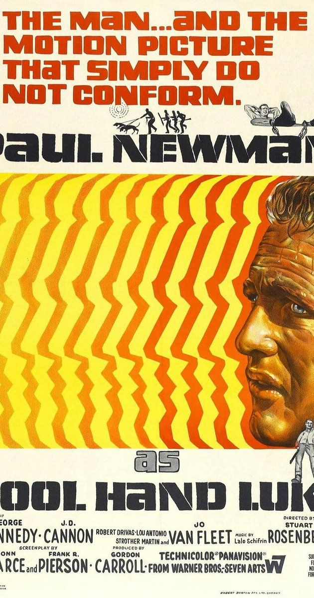 Directed by Stuart Rosenberg.  With Paul Newman, George Kennedy, Strother…
