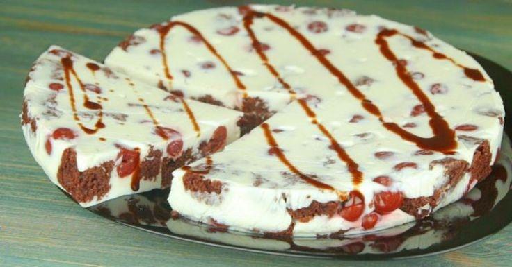 Najlepší smotanovo-sušienkovo višnový koláč, ktorý keď som zjedla, pýtala som si ďalší. Je fantastický   Báječný život