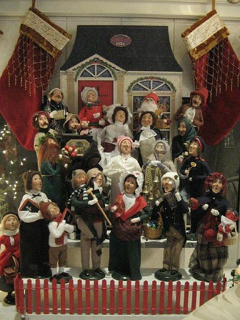 62 best Decorating with Byersu0027 Choice Carolers! images on - christmas carolers decorations