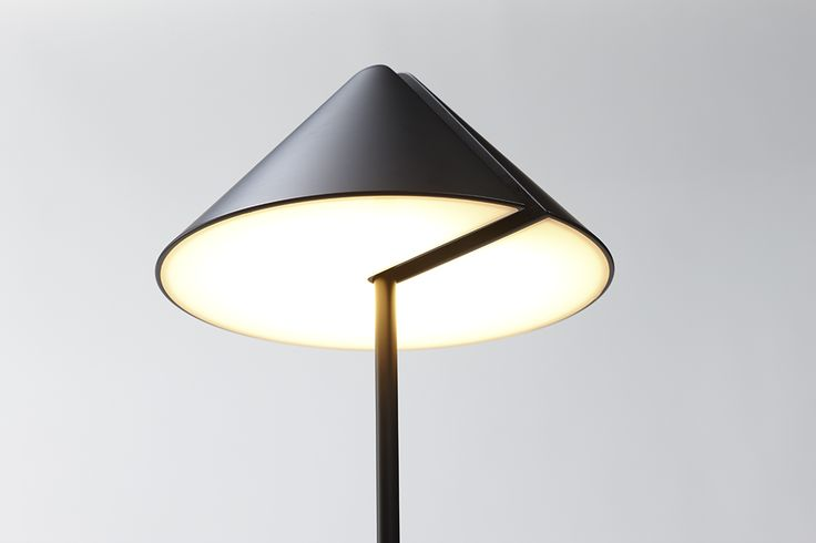 """Japanese designer Daisuke Kitagawa takes an established design – hinged 360 degree movement lamps – and removes the displeasing visible joints for a simple but effective update on a classic. The monochrome """"Nod"""" series features a moveable slit in each model which hides the inner workings and importantly allows light to be directed from any angle; giving the consumer full control over both the intensity and direction of the beam as well as the aesthetic of the lamp itself. The clean design…"""