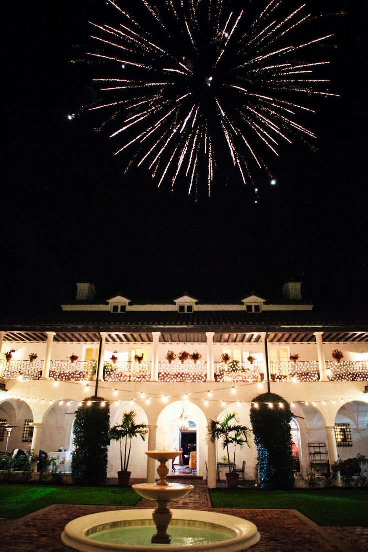 Fireworks Are Just A Small Part Of Making Jekyllclub The Best Georgia Wedding Venue Ever