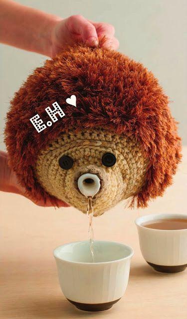 Craft Oasis: Hedgehog Teapot Cosy ♥