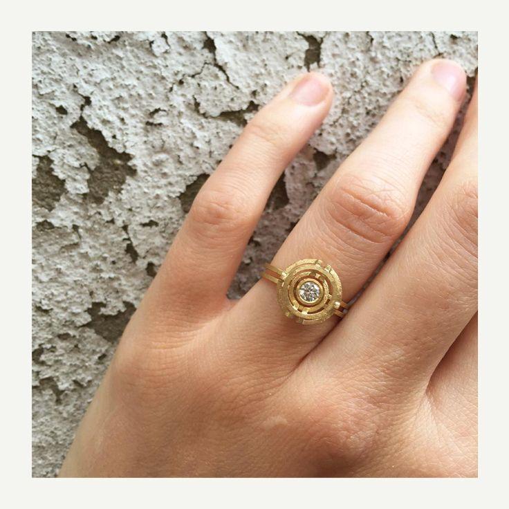 Best 25 Circle diamond rings ideas on Pinterest