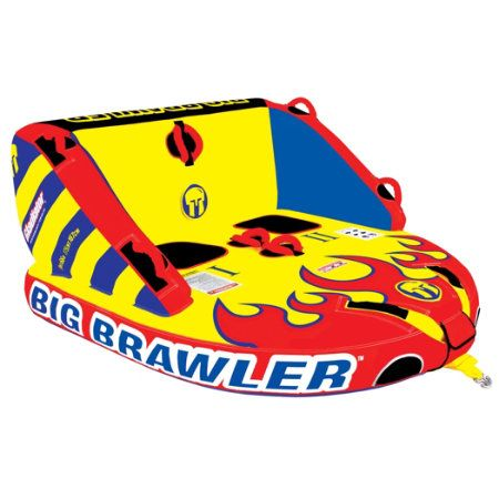 Overton's : Gladiator 2-Rider Big Brawler - Watersports > Towables & Tubes > 2-Person Towables : Water Tubes, Wild Towables, Mild Tubes, Inflatable Water Towables, Ski Towables