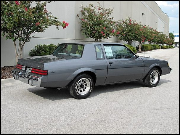 1987 Buick Regal T V8 (non-turbo) with Y56 T Package, W02 Exterior - regal für küche