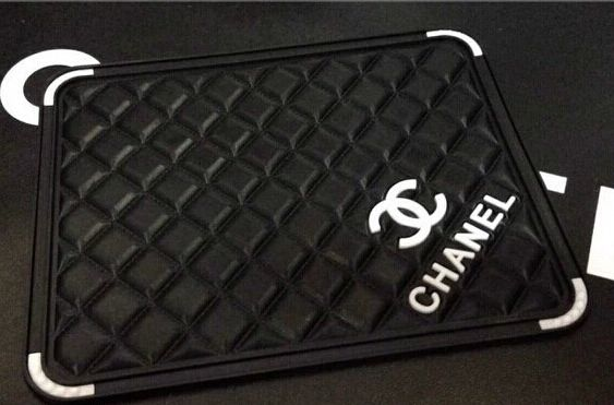 Chanel silicone non slip mat car cup mat