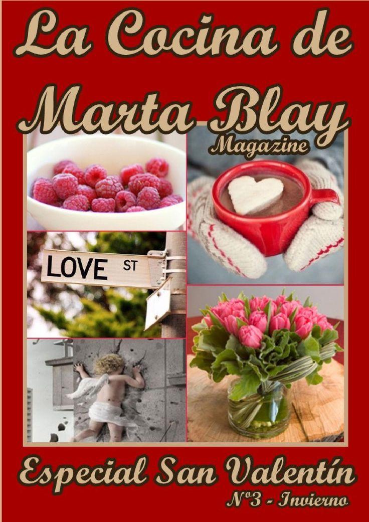 Especial San Valentín. La Cocina de Marta Blay  Ideas de recetas con glamour y afrodisíacas, chocolate, galletas, pasteles, decoración, comidas en la playa, en el pueblo, un picnic.