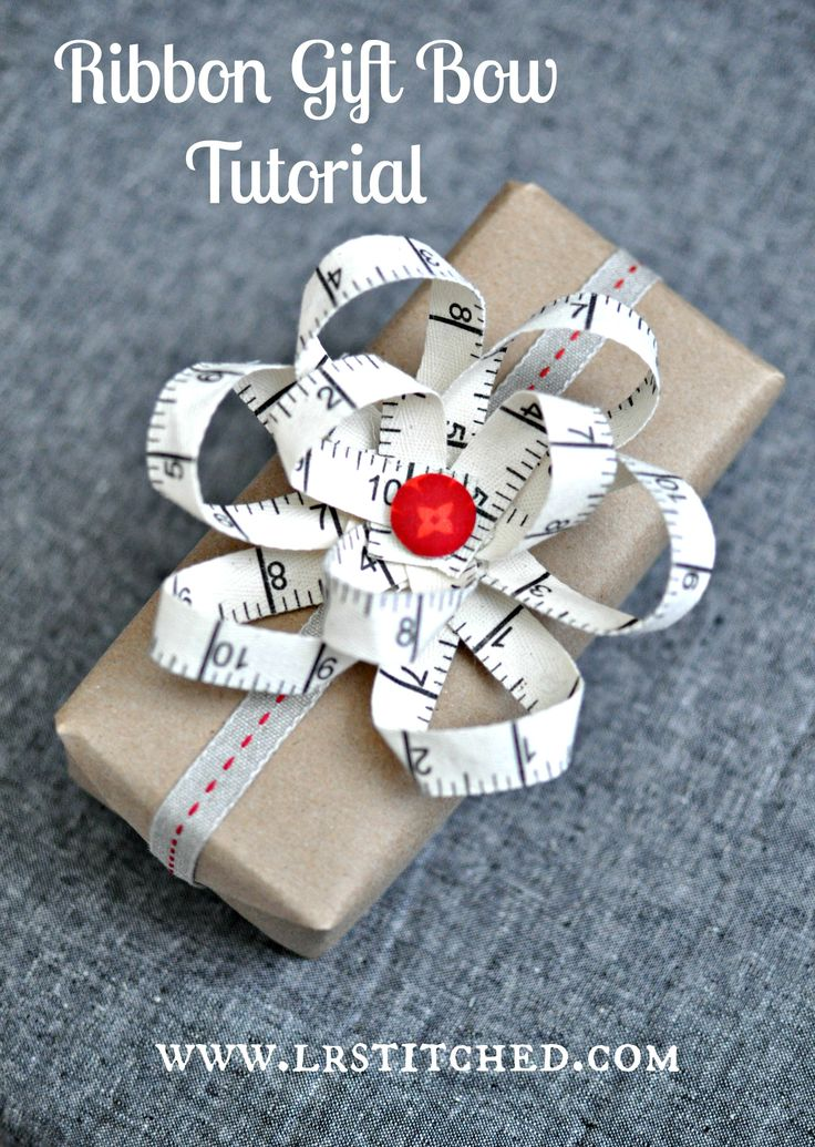 ribbon gift bow tutorial