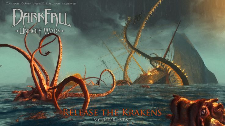 Release the Krakens event #PvP #art #MMORPG #combat