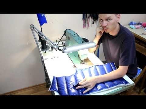 как сшить синтепоновую курточку - YouTube