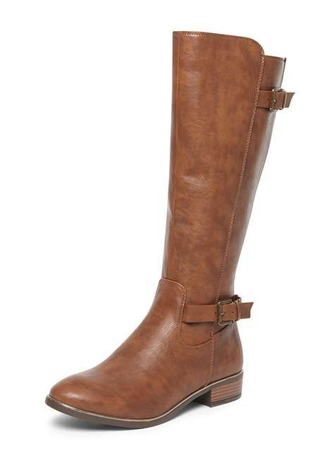 Brown 'Trinity' Knee High Boots