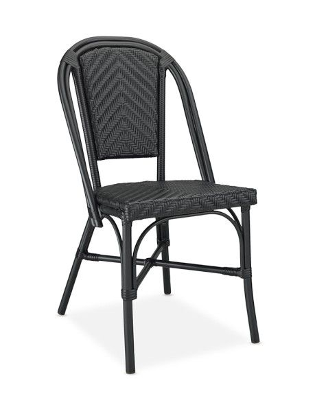 Parisian Bistro Indoor Outdoor Side Chair Outdoor Dining