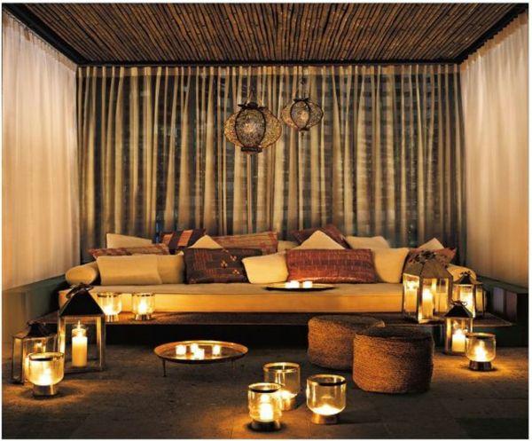 17 meilleures id es propos de salon marocain traditionnel sur pinterest s - Decoration orientale salon ...