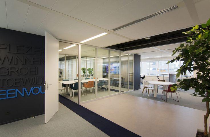 interieurontwerp door SVDK  interieurarchitecte(n) 2017 spreekkamer in kantoor iWriter
