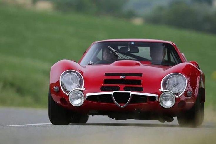 1967 Alfa Romeo TZ2 designed by Zagato – its a low…