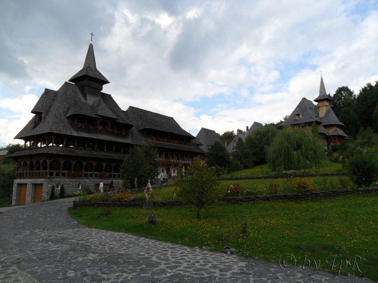 Barsana Monastery yard